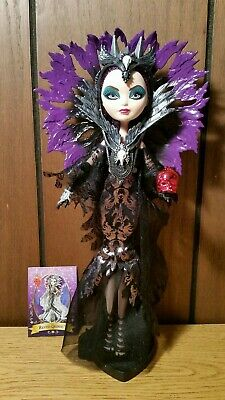 """Ever After High RAVEN QUEEN Toys""""R""""Us Exclusive Style Spellbinding Doll"""