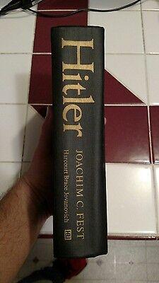 Hitler by Joachim C. Fest (1974, Hardcover) A Helen and Kurt Wolff Book