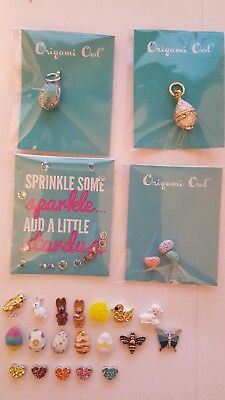 Origami Owl EASTER & SPRING CHARMS , STARDUST AND PENDANTS NEW - Easter Jewelry