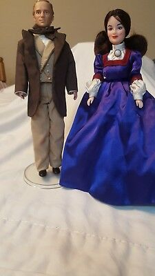 GONE WITH THE WIND WORLD INDUSTRIES DOLLS LOT OF 2 1967 VINTAGE MELANIE & ASHLEY