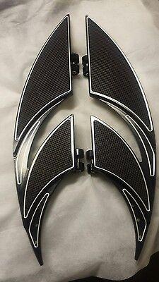 CNC Custom Design floorboards for Harley Davidson Street Glide No Reserve
