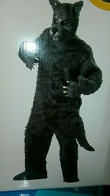 Adult  Big Bad Wolf Suit Halloween Adult Costume - Bad Halloween Costumes