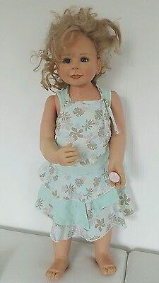 Künstlerpuppe Europe Edition Monika Levenig Puppe Größe ca. 74 cm