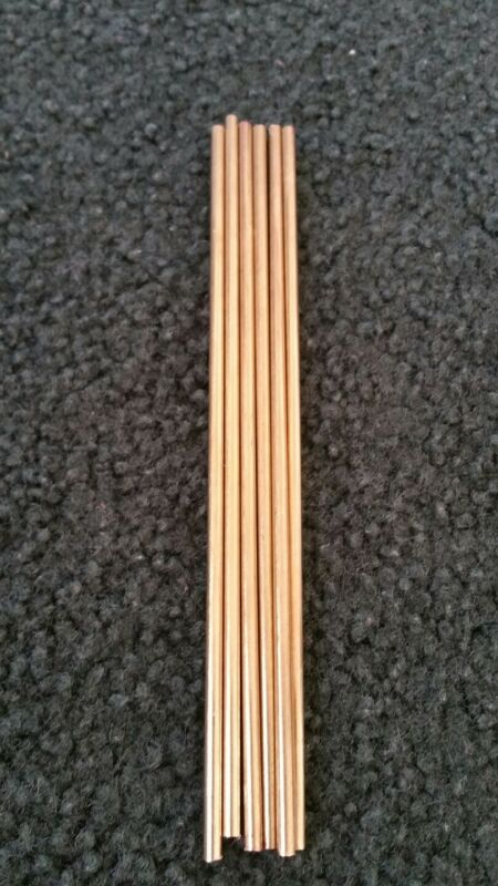Solid Brass Rod 1/8 inch diameter x approximately 6 inch length
