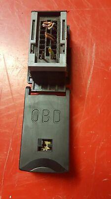 BMW 3er E46 - Deckel mit Rahmen OBD mit Steckdose 6901665 Diagnose Stecker  gebraucht kaufen  Thannhausen