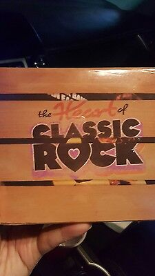 The  Heart of Classic Rock Box Set Box by Various Artists (CD, 10 Discs)