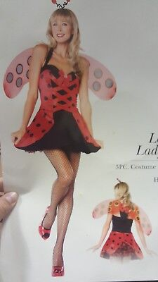 Lovely Lady Bug Kostüme (Lovely Lady Bug Ladybug Sexy Woman Costume Leg Avenue 83579)