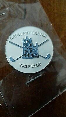 Cathcart  Castle Golf Club Ball Marker