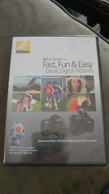 Nikon School Fast, Fun & Easy Great Digital Pictures DVD New D40 and D40x Camera