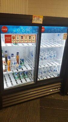 Double Sliding Glass Door Cooler True Gdm-41sl--54hc Ld Beverage Refrigerator