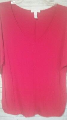 Ladies Plus Size Blouse By Ambiance Apparel By Chico Size 1X