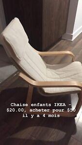 Chaise enfants IKEA