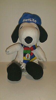 "Snoopy metlife plush 6"""