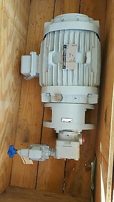 Vickers Pump L2-mpef4-155-1 847353 1175rpm W General Electric 3 Hp Motor