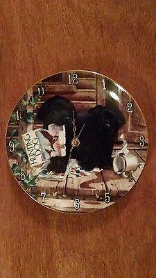 Labrador Hunting Dog Clock !!