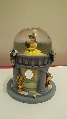 Rare Disney Beauty and the Beast Belle Snowglobe