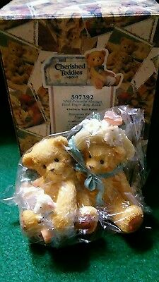 Cherished Teddies Bear Figurine Chelsea Daisy Reunion Event 597392 Retired