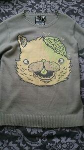 Drop Dead Sweater Jumper Size M