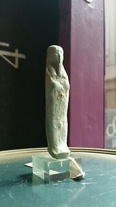 Rare and genuine ancient egyptian african shabti ushabti burial figure antiquity