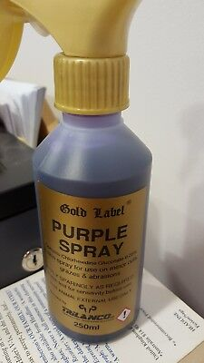 New 250ml Gold Label Purple Spray for minor cuts