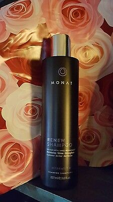 New Sealed Renew Shampoo Monat Hair Loss Balance Monet Infused W Rejuvenique Oil