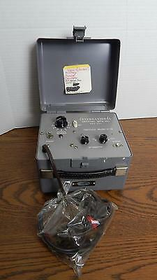 Vtg International Crystal Mfg Military Oscillator Model C-12 Never Used