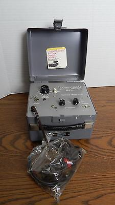 Vtg International Crystal Mfg Military Oscillator Model C-12 Never Used