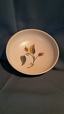 Hand Painted Ceramic Bowl Made in England Floral Design
