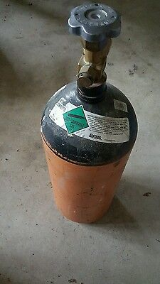 40 Cubic Feet Nitrogen Tank - Used - Hvac Brazing