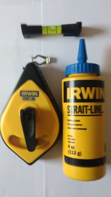 Irwin Strait-line 100ft Chalk Line