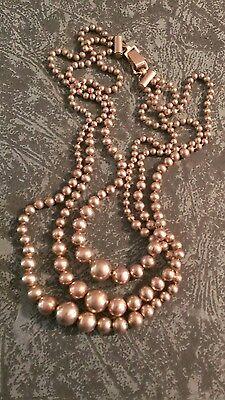 Victorian Brass Necklace