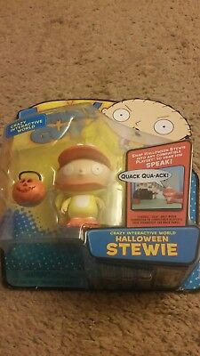 Family Guy Crazy Interactive World Halloween Stewie Action Figure MIB Playmates!