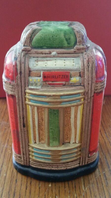 WURLITZER Ceramic Coin Bank Music Box COIN ACTIVATES MUSIC!!!!!