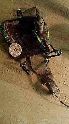 Breyer custom western saddle set bridle