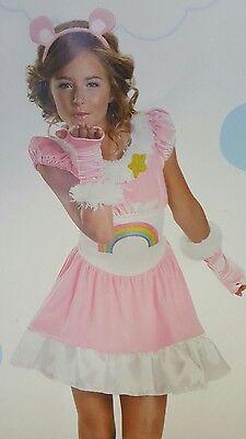 Cheer Bear Care Dress Costume Girl Disguise 36470 Teen - Girls Cheer Costume