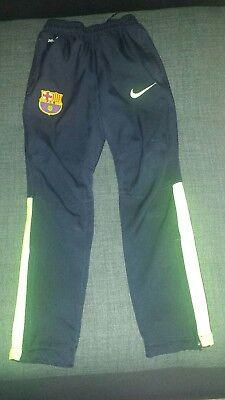 Nike Football Barcelona  Training Pants  Size 6 -8years