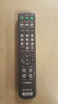 Sony RM-Y129 Satellite Receiver Remote Control