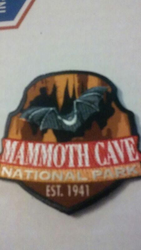 Mammoth Cave National Park patch Small