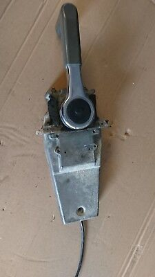 genuine 704  yamaha outboard top mount remote control push to open throttle