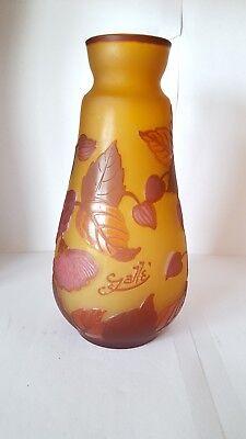 Galle glass vase