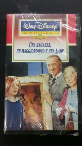 WALT DISNEY - VHS - UNA RAGAZZA, UN MAGGIORDOMO E UNA LADY - 1993