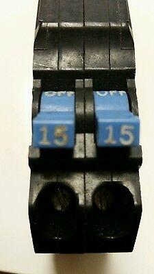 Mm1515 Murray Type Mm Twin Circuit Breaker 2 Pole 1515 Amp 240v