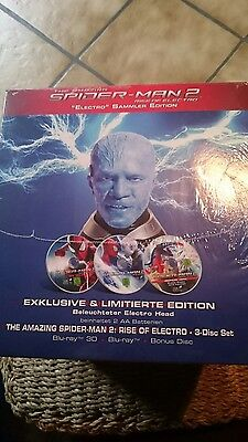 The Amazing Spiderman 2 blu ray electro limited edition / sammler neu (Amazing Spiderman 2 Electro)