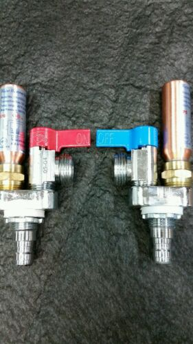 LSP Wirsbo pex water hammer arrestors.  washing machine valves.  Hot and Cold