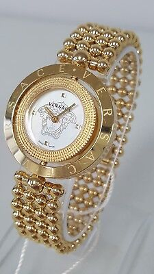 Versace Eon V79040014 Women's 34mm Mother of Pearl Dial Swiss Watch **NWD**