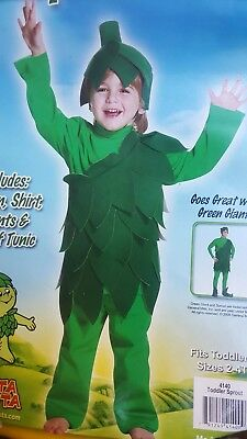 Sprout Jolly Green Giant Toddler Infant Costume Rasta Imposta 4140