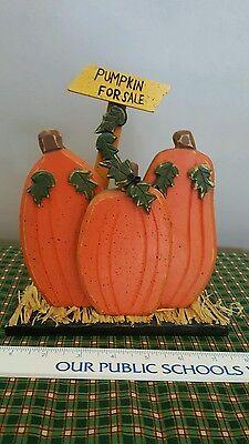 Primitive Wood Pumpkins For Sale Halloween Home Decor Fall Thanksgiving Autumn