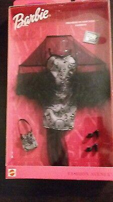 NIB Barbie Fashion Avenue metro styles black dress