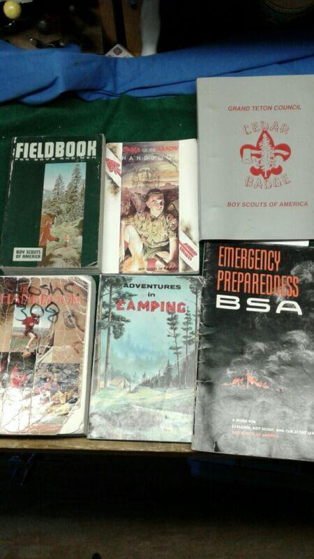 Vintage Boy Scout Book lot