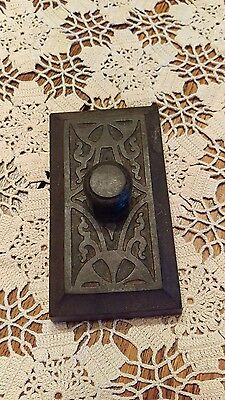 Antique Art Deco Cast Iron Paperweight